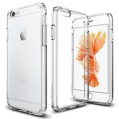 Spigen Ultra Hybrid iPhone 6S Case with Air Cushion Technology and Hybrid Drop Protection for iPhone 6S / iPhone 6 - Crystal Clear from EuRsvep