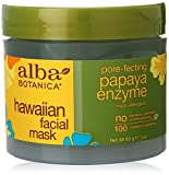 Alba Botanica Hawaiian, Papaya Enzyme Facial Mask, 3 Ounce
