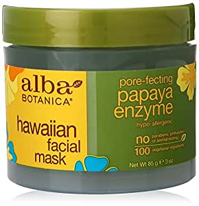 Alba Botanica Hawaiian, Papaya Enzyme Facial Mask, 3 Ounce