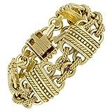 Judith Ripka Women's Carved 18K Yellow Gold Bracelet