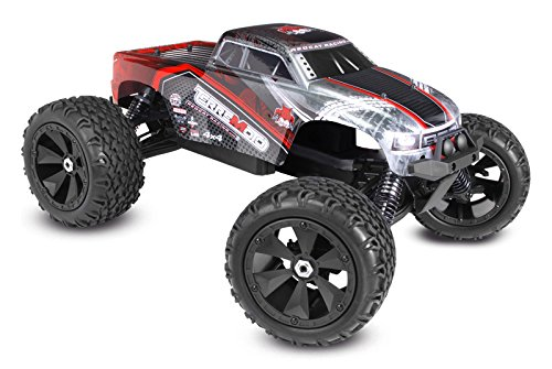- Redcat Racing Terremoto V2 Brushless Electric Monster Truck with 2.4GHz Remote Control, 1/8 Scale, Red