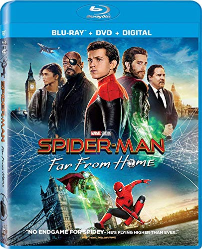 Spider-Man: Far from Home [Blu-ray] (Store Phoenix The Home)