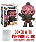 Funko Pop! Marvel: Guardians of the Galaxy Vol. 2 - Taserface Vinyl Figure (Bundled with Pop BOX PROTECTOR CASE)