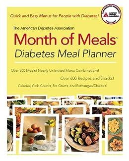 Amazon the american diabetes association month of meals the american diabetes association month of meals diabetes meal planner by american diabetes association fandeluxe Images
