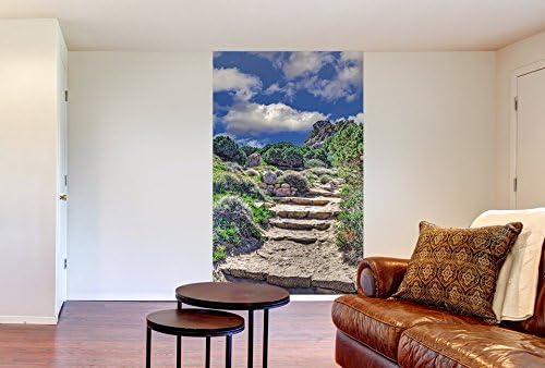 Trompe l/œil D/éco murale Qualit/é HD Scenolia Poster vertical XL d/éco LE MAQUIS 150 x 240 cm