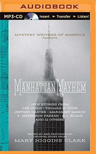 Books : Manhattan Mayhem: An Anthology of Tales in Celebration of the 70th year of the Mystery Writers of America