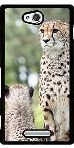 Funda para Sony Xperia C S39H - Cheetah_2015_0601 by JAMFoto