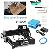 10W DIY Desktop cnc engraver Metal laser cutter engraving machine USB engraver