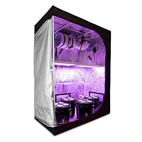 - HTGSupply 2x4 Hydroponic LED Grow Kit | OTD 84 Full Spectrum LED + Grow Tent (24