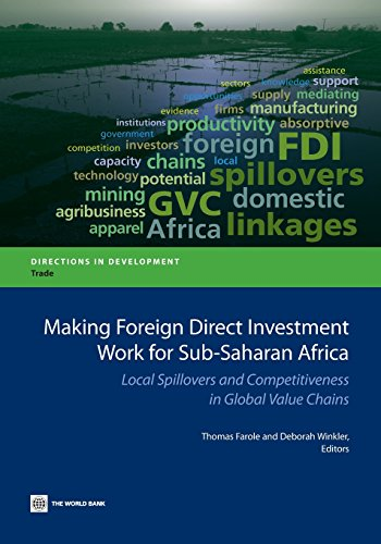 Search : Making Foreign Direct Investment Work for Sub-Saharan Africa: Local Spillovers and Competitiveness in Global Value Chains (Directions in Development)
