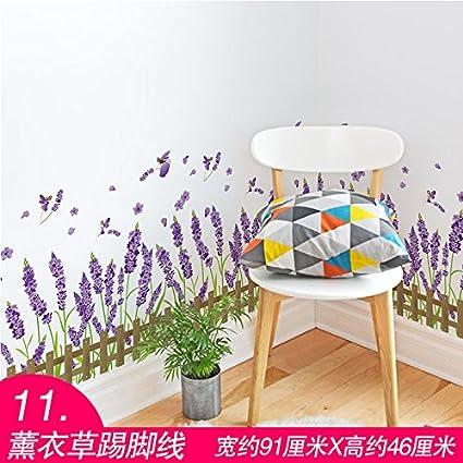Amazon com: Ghaif 3D wall decals bedroom wall decor Garden wallpaper