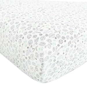 Babyletto Mini Crib Sheet, Tranquil Woods
