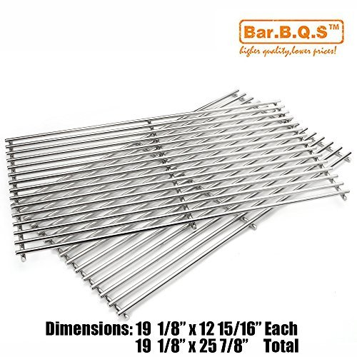 Bar.b.q.s Stainless Steel Cooking Grates For Broil King, Broil-Mate, Grill Pro, Jenn-Air, Kirkland, Nexgrill, and Perfect Flame Stainless Steel Wire Cooking Grid (Grills Broil Flame)