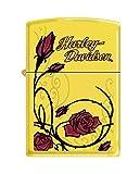Zippo Harley-Davidson Roses Lemon Pocket Lighter