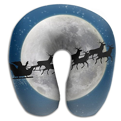 One Starry Christmas Reviews - Starry Night Creative Comfort U Cartoon Neck Pillow