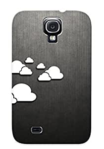 Durable Protector Case Cover With Clouds Hot Design For Galaxy S4 (ideal Gift For Lovers)