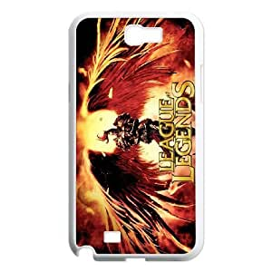 Plastic Durable Cover Yzaa League Of Legends For Samsung Galaxy Note 2 N7100 Cases Cell phone Case
