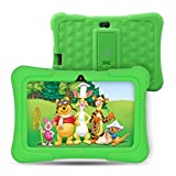 [Upgraded] Dragon Touch Y88X Pro 7 inch Kids Tablet, 2GB RAM 16GB Android 9.0 Tablets, Kidoz Pre-Installed with All-New Disney Content WiFi Only - 2019 New Model - Green