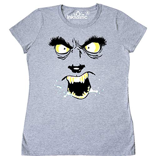 Inktastic Monster Faces Wolfman Women's T-Shirt Small