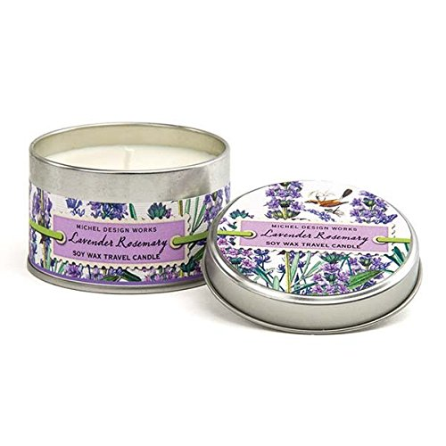 - Michel Design Works Lavender Rosemary Soy Wax Travel Tin