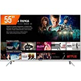 TV 55 Polegadas LED 4K Smart WIFI USB HDMI - TV 55K1 4K, Semp Toshiba