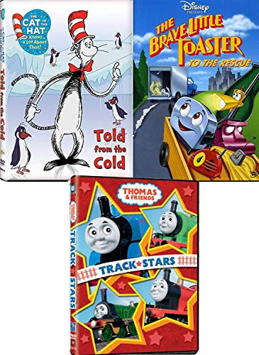 - Cold Bears Penguins Toasters 4 Cartoon Movie Disney Brave little Toaster to the Rescue / Cat in the Hat Told from the Cold Seuss + Thomas Train Friends Track Stars Animated Adventures cartoon Features