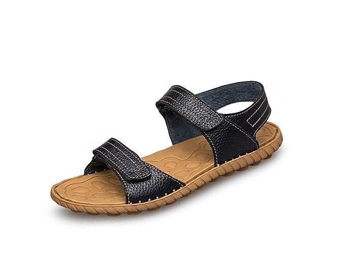 Sandales pour Hommes Fashion,Chaussures de Plage d'Été Astuce Sandales de Liaison-B Longueur du Pied=26.3CM(10.4Inch)