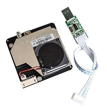 Seajunn Nova PM sensor SDS011 High precision laser pm2.5 air quality detection sensor module Super dust dust sensors, digital output: Amazon.com: Industrial ...
