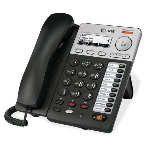 SB35025 IP Phone - Wireless - Desktop, Wall Mountable - Black, Silver - 1 x Total Line - VoIP - Caller ID - Speakerphone - 2 x Network (RJ-45) - PoE Ports ()
