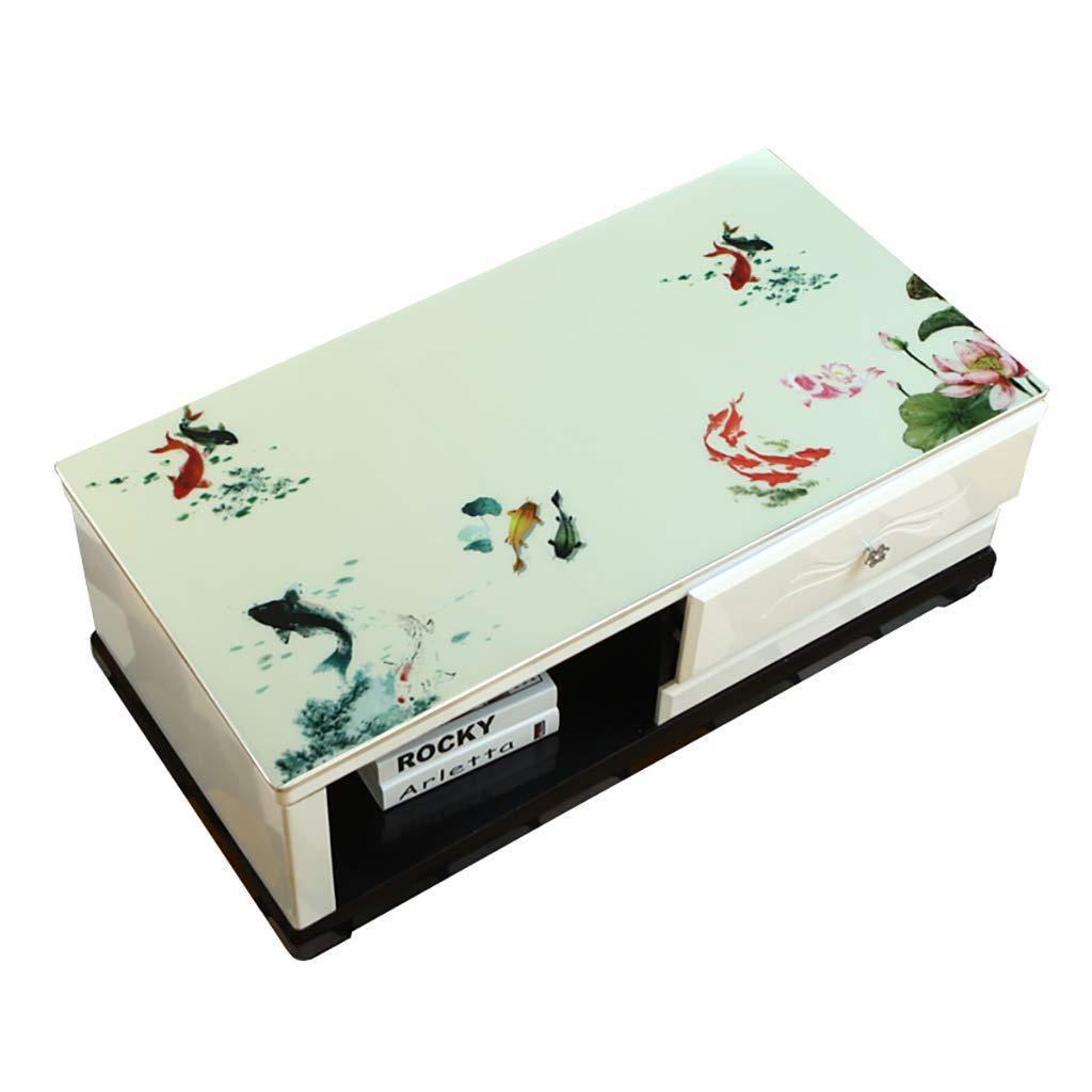 Hongsebuyi Tischdecke PVC Transparent Weichplastik Tischdecke Antifouling Anti-Verbrühung Tee Tischdecke Kaffee Tischdecke Dicke 1,5 MM (größe   85×140CM) B07MKRMW8F Tischdecken Hohe Qualität und geringer Aufwand     | Niedrige Koste