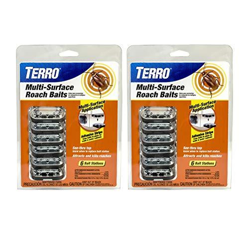 Roach Magnet - Terro T500SR Multi-Surface Roach Baits-2 Pack, Yellow