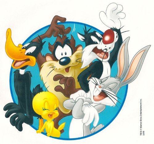 Looney Tunes Group ~ Edible Image Cake / Cupcake Topper!