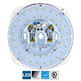 Sunlite LED Retrofit Light Engine, 7-inch, 5000K Super White, 28 Watt, Dimmable, Flush Ceiling Fixture LED Upgrade Panel, Energy Star Compliant, Commercial Grade, 90 CRI