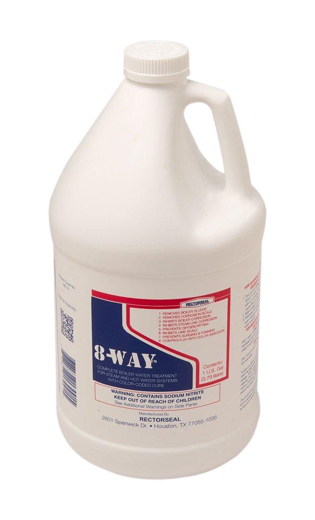 Rectorseal 687141-Gallon 8-Way Boiler Water Treatment