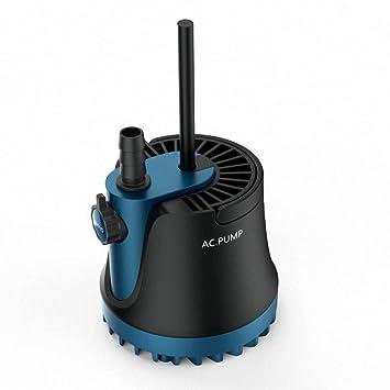 Haol Bomba de Agua Sumergible para Acuario de 25 vatios, Tanque de Agua, Fuente de Potencia hidropónica: Amazon.es: Deportes y aire libre