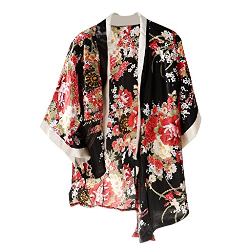 Nuit Sexy Homyl Pyjama de Fleurs Nuisette de de Chambre Femme Robe Peignoir Vtement Court Nuit Chemise Kimono r8Cwqxr7