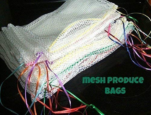 Reusable Produce Bags Mesh Grocery