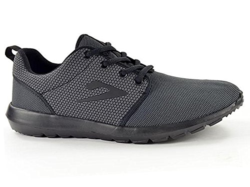 Ladies 581004 Galop Ultra Lightweight Sports Air Running Casual Lace Up Trainers Shoe Size 3-8 Black 7pwSi