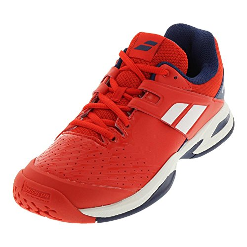 All Estate Blue Propulse Red Bright Shoes Tennis Junior Babolat Court THwqxOO4