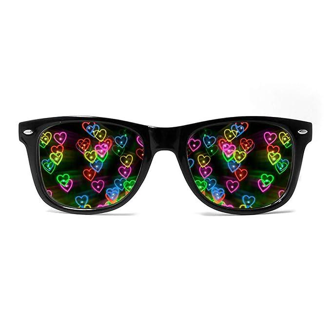 Amazon.com: GloFX - Gafas de difracción con efecto de ...