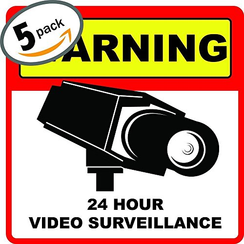 Home Security System Stickers Surveillance product image