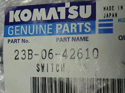 Komatsu Genuine Parts 23B-06-42610 Brake Oil Pressure Switch