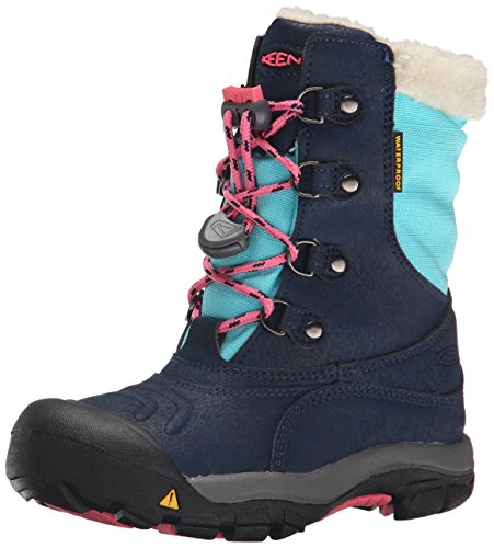 Keen Kinder Winterstiefel Basin WP Dress Blues/Camellia Rose 30