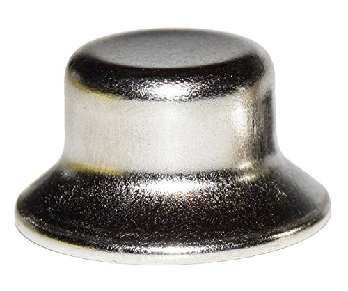 1/2' Nickel Plated Stamped Finial