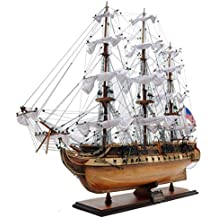 Old Modern Handicrafts Exclusive Edition USS Constitution Collectible