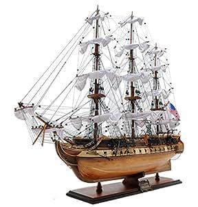 Old Modern Handicrafts USS Constitution, Medium