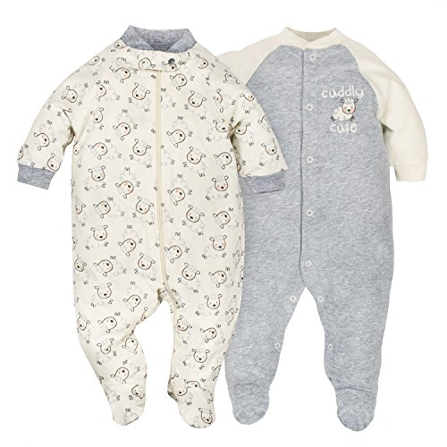 dressing a baby for sleep - 6