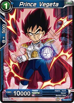 Dragon Ball Super TCG - Prince Vegeta - TB3-023 - C - Clash of ()