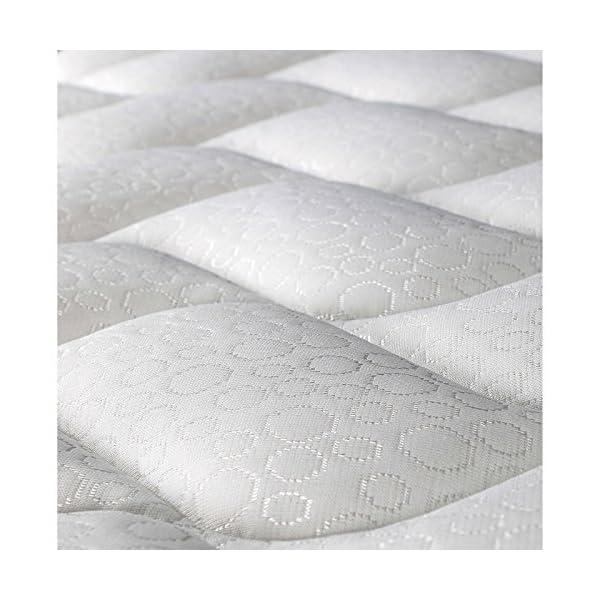 Evergreenweb - Materasso Singolo 90x190 Alto 20 cm in Poliuretano ORTOPEDICO lastra Water Foam Bio + CUSCINO Memory Foam… 4 spesavip
