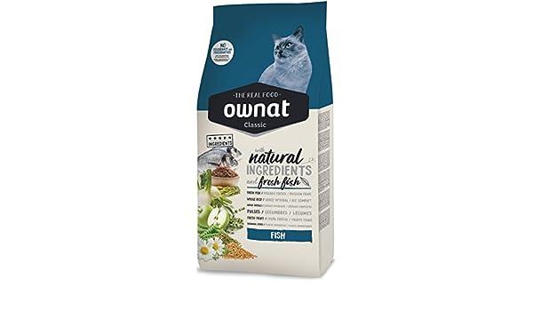 Ownat Classic Fish Cat Alimento para Gatos - 1500 gr: Amazon.es: Productos para mascotas